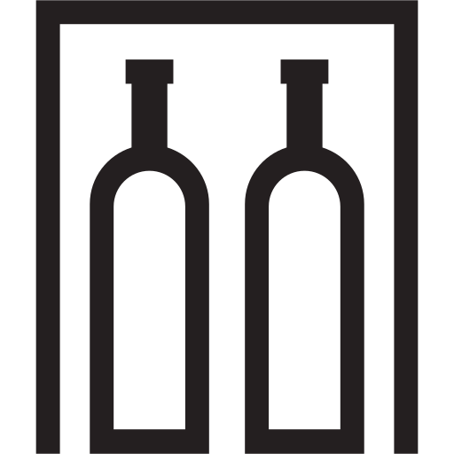 alcohol, bar, drinks, flamable, liquid, minibar icon