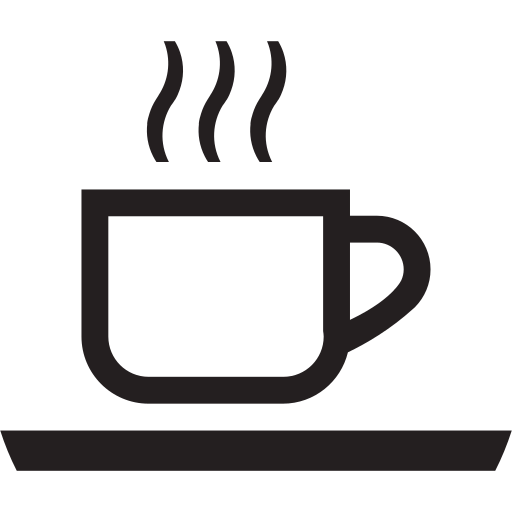 cafe, coffee, drink, energizing, hot, morning icon