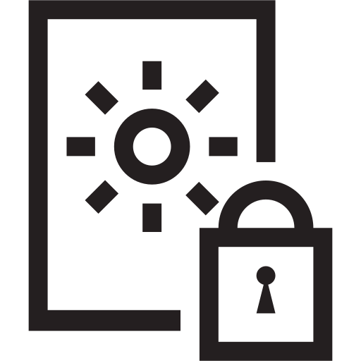 container, lock, locked, safe, secure, valuables icon