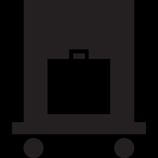 doorman, help, hotel, luggage, services icon