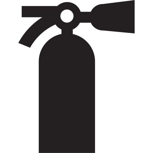 extinguisher, fire, firemen, protection, safe, safety icon