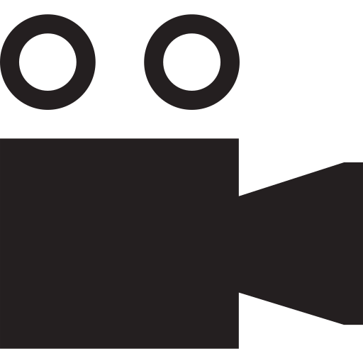 festival, film, movie, ticket icon