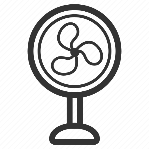 electricity, electronic, facility, fan, furniture icon