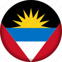 america, antigua and barbuda, flag, flags icon