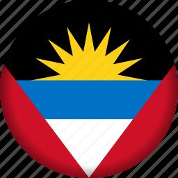 america, antigua and barbuda, flag, flags icon