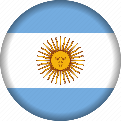 argentina, flag, flags, south america, world icon