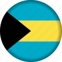 bahamas, flag, flags, north america icon