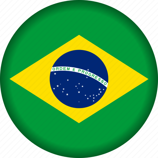brazil, country, flag, flags, south america icon