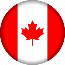 america, canada, country, flag, flags, north america icon