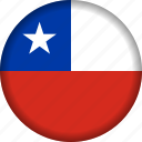 chile, country, flag, national, south america icon
