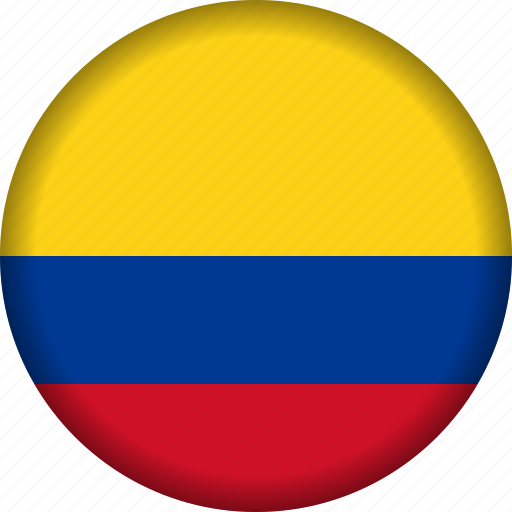 colombia, flag, flags, south america icon