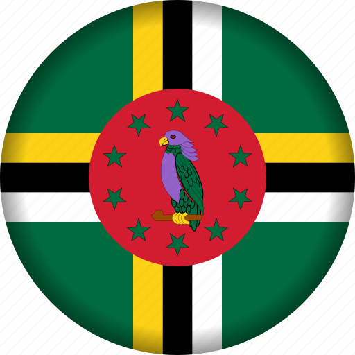 country, dominica, flag, flags, north america icon