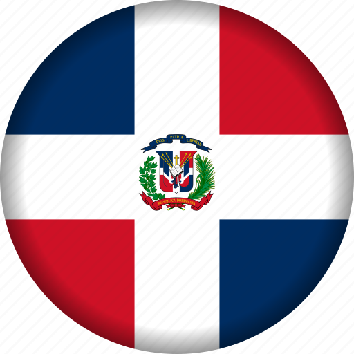 country, dominican republic, flag, flags icon