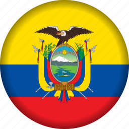 ecuador, flag, flags, south america icon