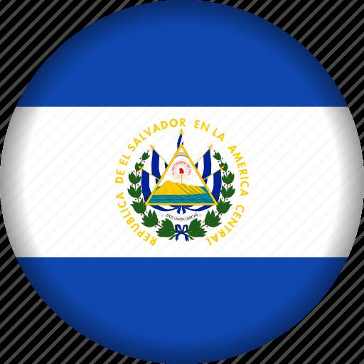 country, el salvador, flag, flags, north america icon