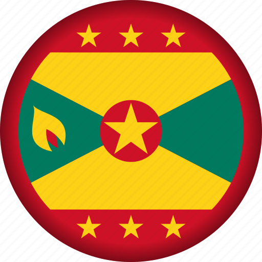 flag, flags, grenada, national, north america icon
