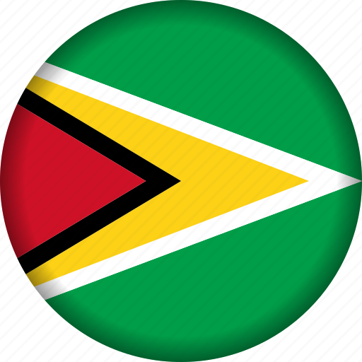 country, flag, flags, guyana, south america icon