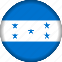 country, flag, honduras, north america icon