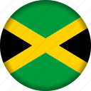 flag, flags, jamaica, north america, world icon