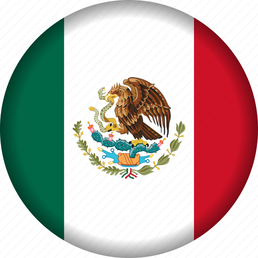 country, flag, flags, mexico, north america icon