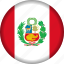 country, flag, flags, peru, south america icon