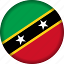 flag, flags, national, saint kitts and nevis icon