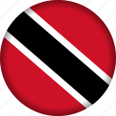 country, flag, north america, trinidad and tobago icon