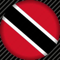 country, flag, north america, trinidad and tobago icon