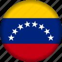 venezuela, flag, world, south america, flags icon