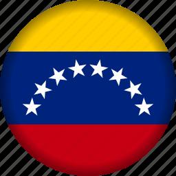flag, flags, south america, venezuela, world icon