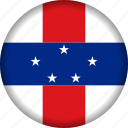 caribbean, flag, flags, netherlands antilles icon