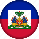 country, flag, flags, haiti icon