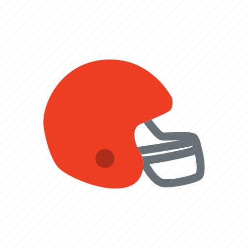 football, helmet, player, safety, soccer icon