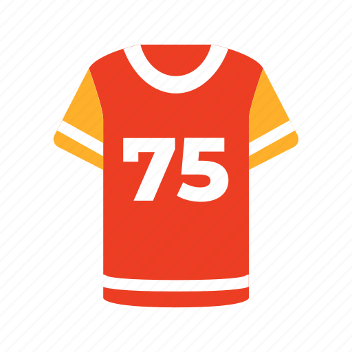 american, ball, football, game, jersey, sport, supporter icon