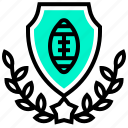 american, ball, football, rugby, sport, team icon