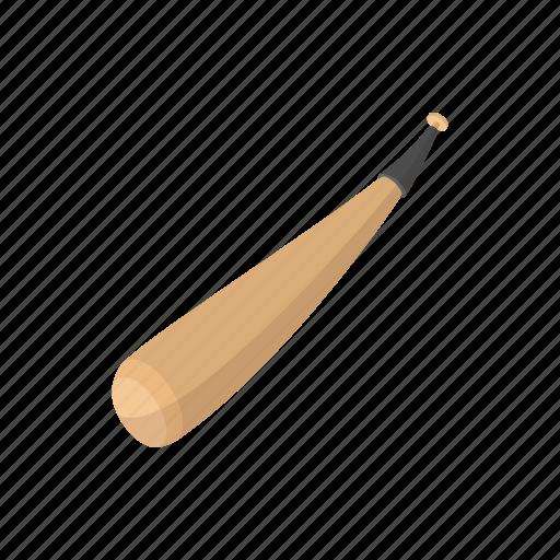 baseball, bat, cartoon, equipment, hit, run, sport icon