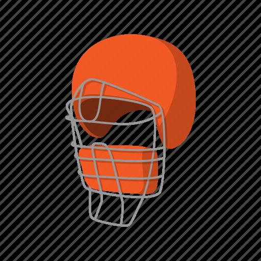 Ball, cartoon, base, baseball, catcher, helmet, uniform icon - Download on Iconfinder
