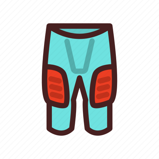 american, football, game, pants, safety, sport icon