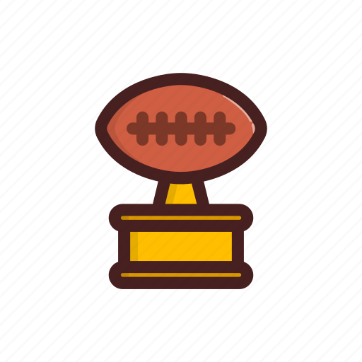 american, award, ball, football, soccer, trophy, win icon