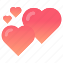 heart, love, valentines, wedding icon