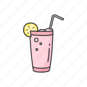 beverage, blended fruit, cup, drink, fruit, shake, smoothies icon