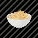american snack, bowl of peanut, dessert, food, nut, peanut, snack icon