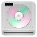 cd, drive, rom icon