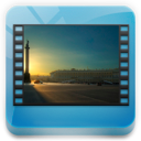 library, videos icon