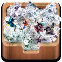 bin, full, recycle