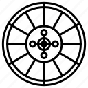 arrow, dart, game, target icon