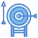 archery, arrow, darts, target, weapons icon