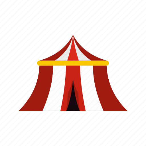amusement, arena, circus, entertainment, festival, show, tent icon
