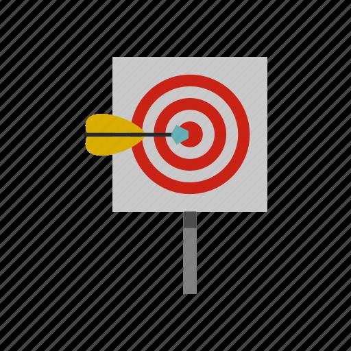 arrow, center, dart, dartboard, goal, success, target icon