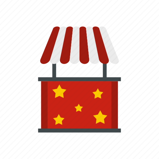 booth, business, cart, kiosk, market, sale, tent icon